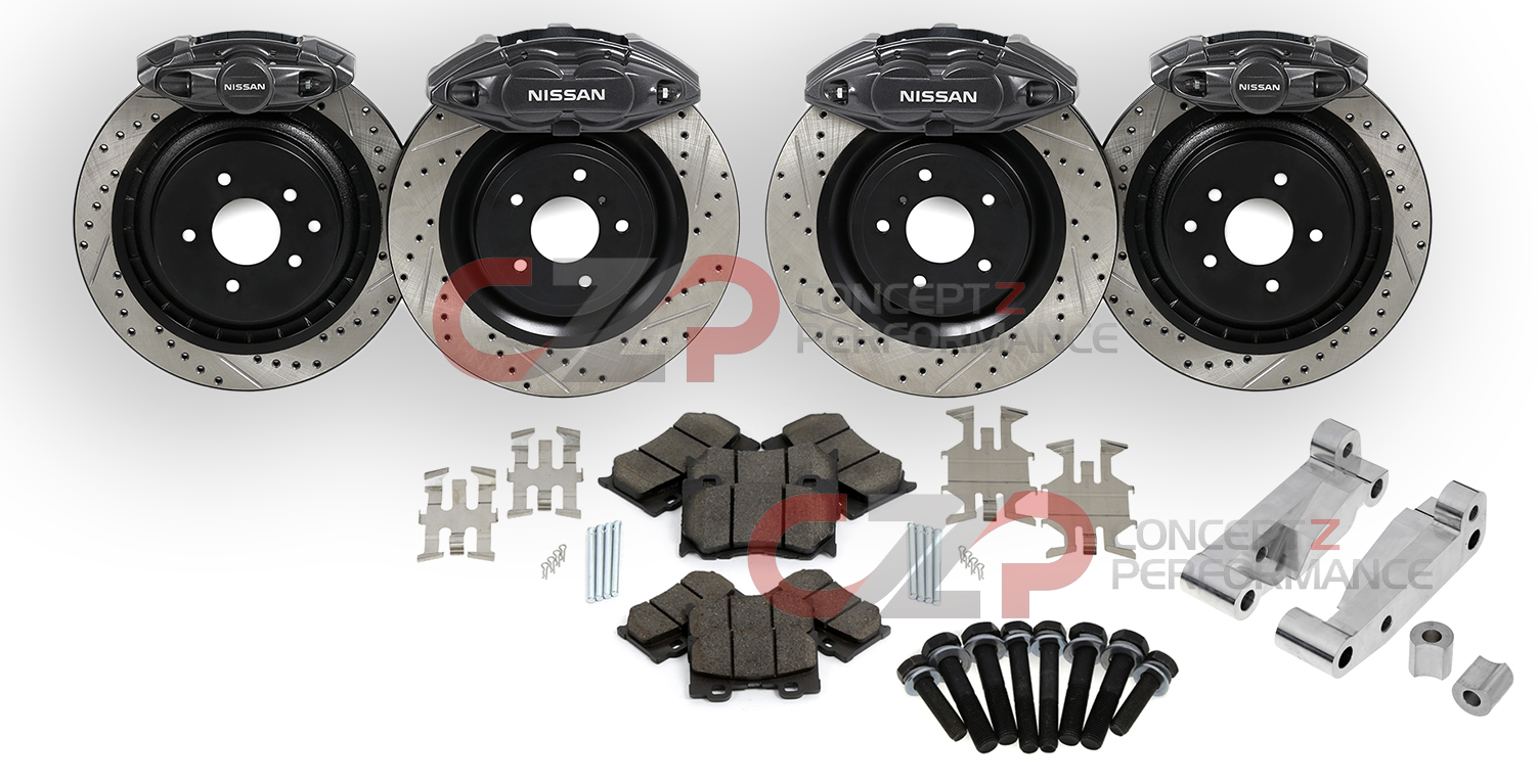 New nissan 370z akebono 14 big brake kit for 03 08 350z kits start at 1200 my350z com nissan 350z and 370z forum discussion