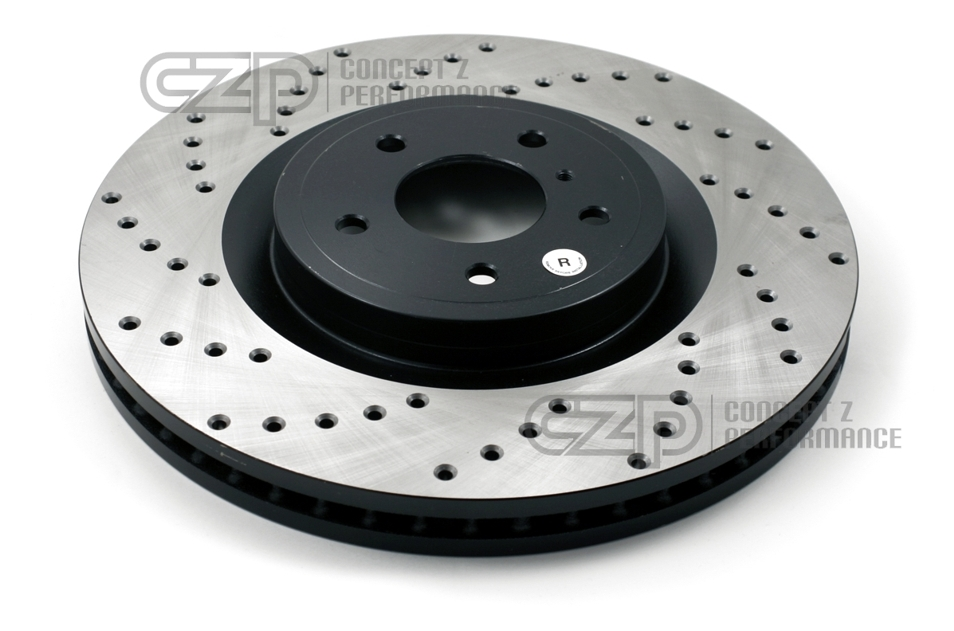 Stoptech 300ZX Direct Replacement Rotors - Rear Pair Drilled