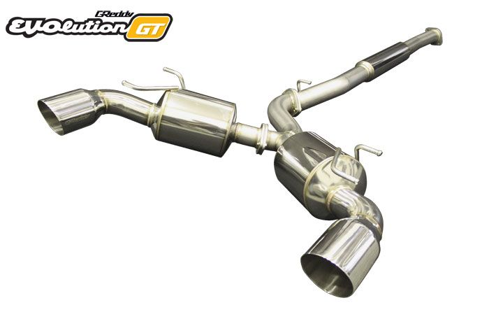 Greddy 10118301 EVOlution GT Stainless Steel Exhaust - Scion FR-S / Subaru BRZ 2017+