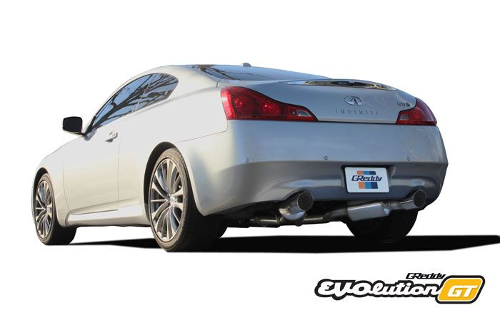 "Greddy EVOlution GT 2.5"" to 3"" Stainless Steel Dual Catback Exhaust - Infiniti G37 08-13 & 14-15 Q60 Coupe CV36"