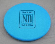 Nardi-Personal Felt Steering Wheel Cover, Blue - Fits 330mm to 420mm Steering Wheels