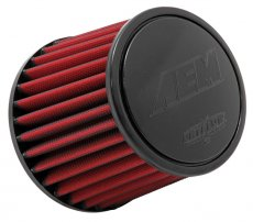 AEM 3 inch Short Neck 5 inch Element Filter Replacement for Stillen Gen 3 Intakes