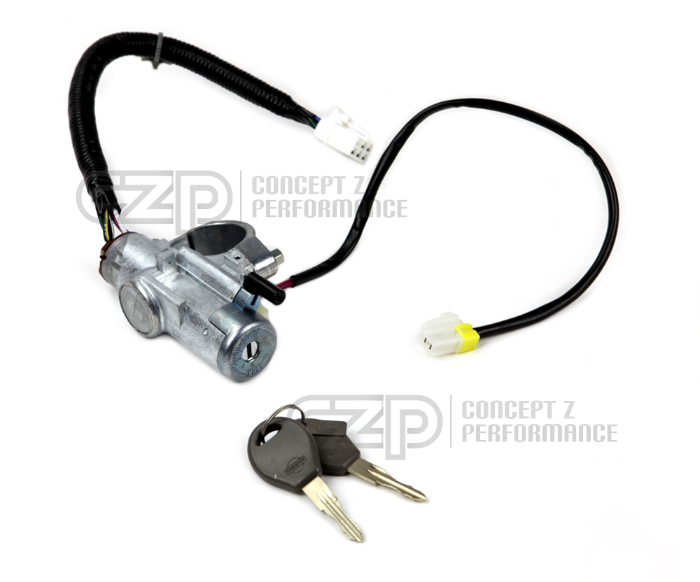 Standard OEM Replacement Ignition Cylinder Switch and Lock Set, Manual Transmission MT LHD - Nissan 300ZX 90-94 Z32