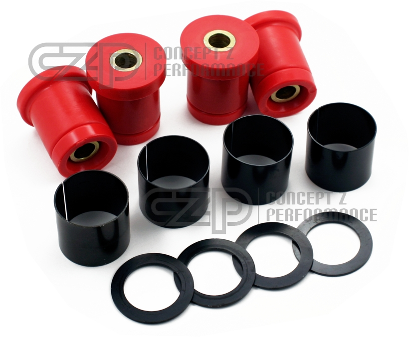 CZP Subframe Sleeve Kit w/ Energy Suspension Bushings - Nissan 300ZX 90-96 Z32