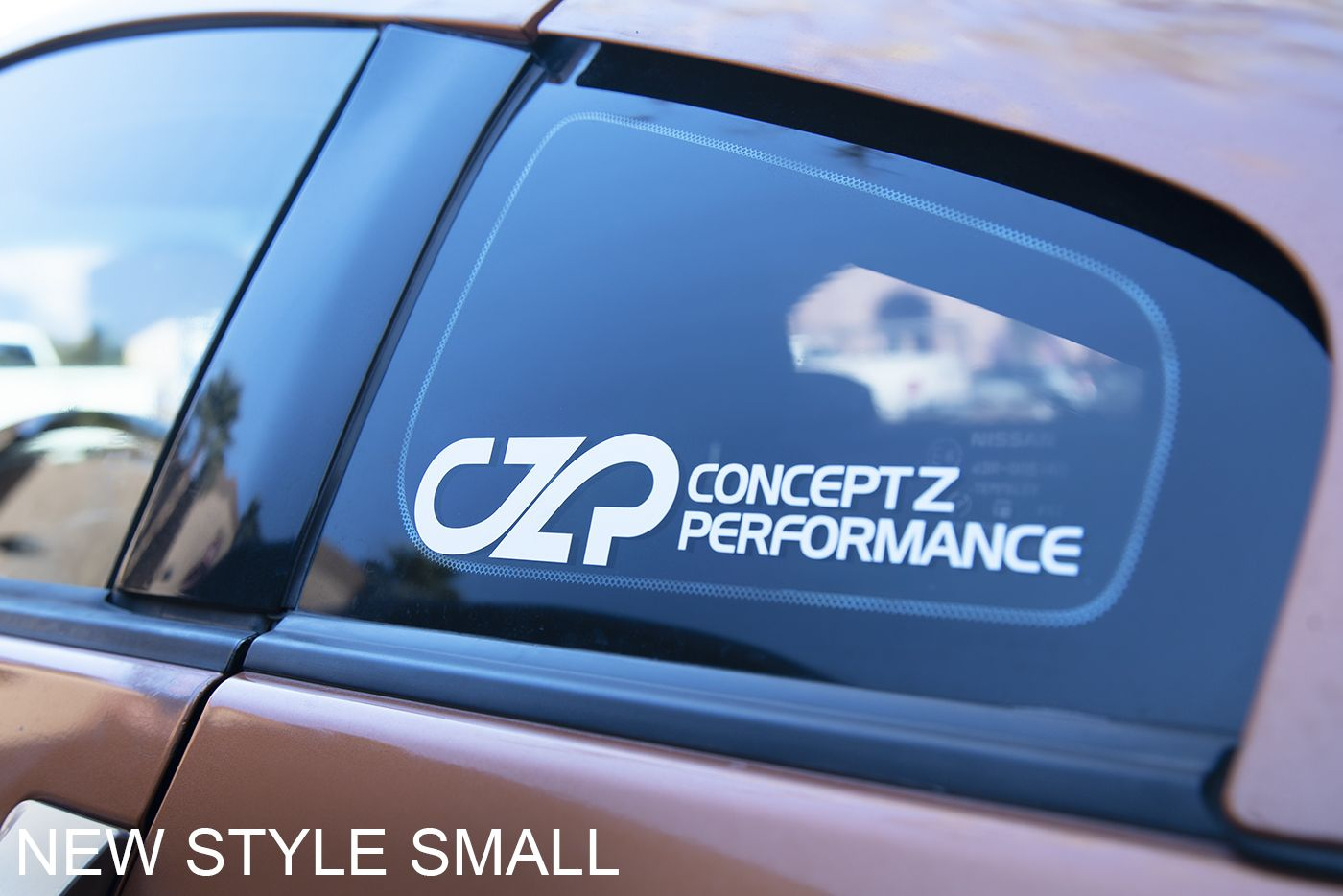 Concept Z Performance CZP Quarter Window Decals