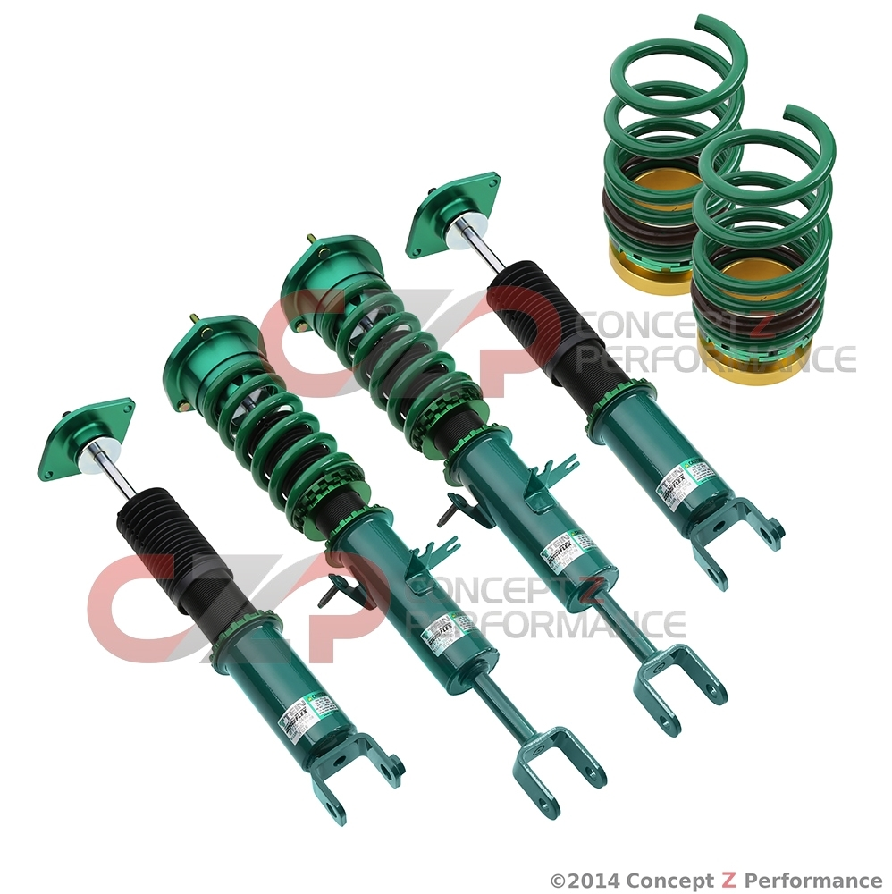 Tein Flex Z Coilover Kit - Nissan 350Z / Infiniti G35 RWD - LAST 2 LEFT IN STOCK!!!