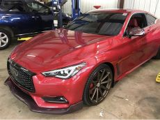 EMM Tuning Direct Carbon Fiber Mirror Covers - Infiniti Q60 Coupe CV37