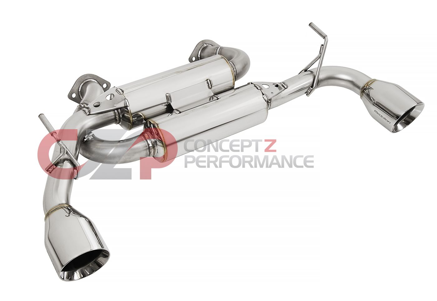 Tanabe Medallion Touring Axle-Back Exhaust System, RWD & AWD - Infiniti Q60 Coupe 3.0T CV37