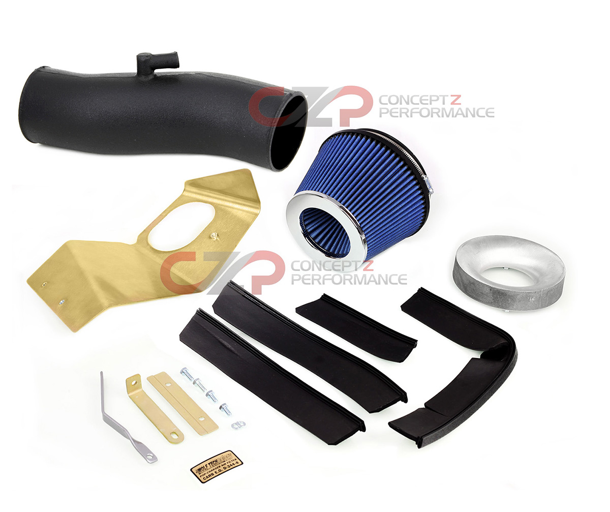 JWT Pop Charger / Stillen Z-Tube Intake Pipe Combo - Infiniti G35 03-06 Sedan, 03-07 Coupe V35