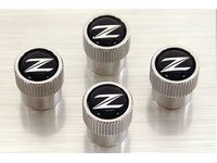 Nissan OEM Tire Valve Stem Caps ( 4-piece Set) - Nissan 370Z Z34