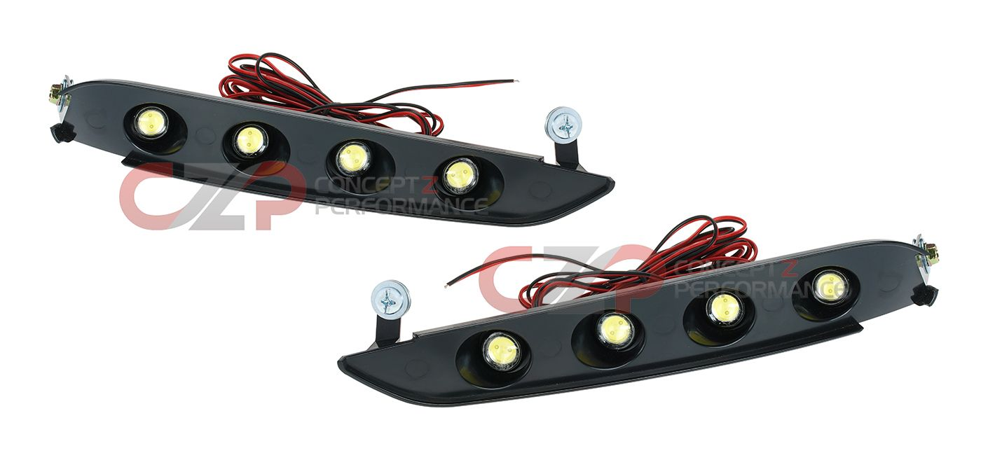 EVO-R LED Replacements for Daytime Running Lights DRL, 2015+ Nismo Bumper- Nissan 370Z Z34