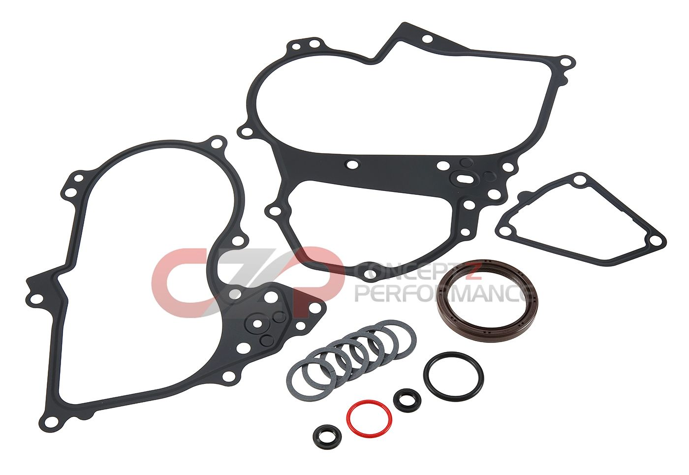 Nissan OEM Timing Cover & O-Ring Seal Gasket Kit - VQ35HR & VQ37VHR