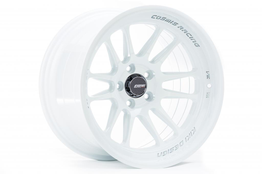 Cosmis Racing XT-206R Wheel, Sold Individually - 18x11 +5 White