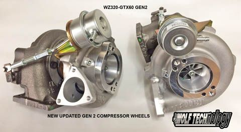 JWT Jim Wolf Technology GTX2860 GEN II 2 Twin Turbo Upgrade Kit - Nissan 300ZX Z32