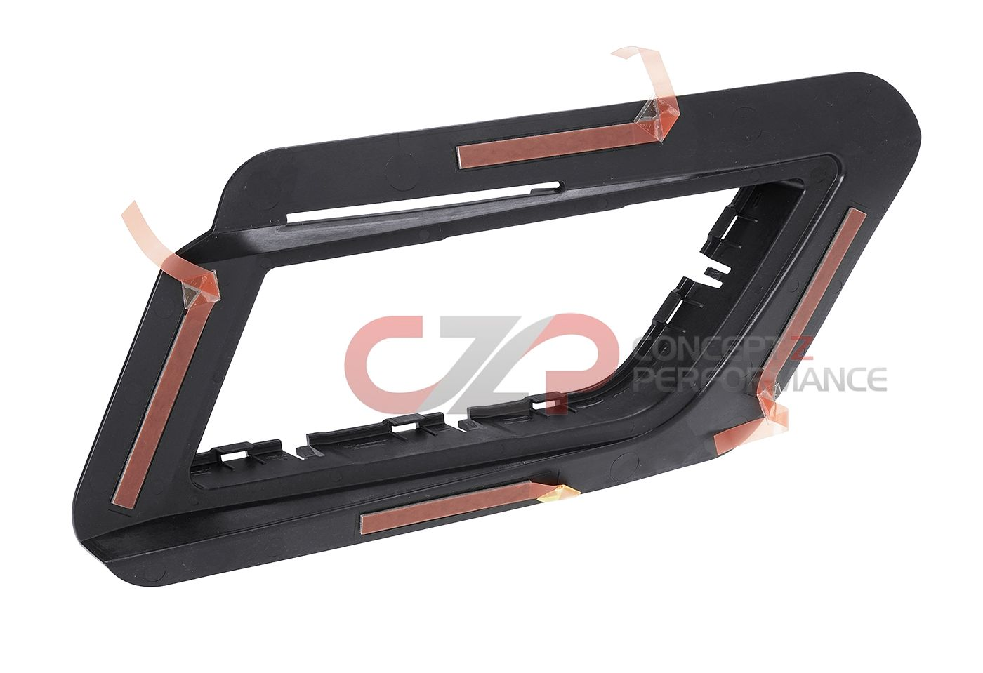 Nissan OEM Rear Bumper Lower Valance Diffuser Mounting Brackets, RH - Nissan GT-R 17+ Non-Nismo R35