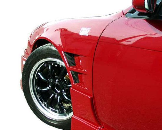 Chargespeed CS705FF 240sx S-14  Kouki 20mm Widebody Front Fenders