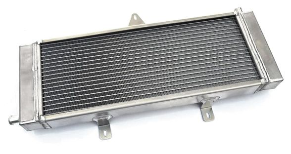 Burger Motorsports BMS High Capacity Intercooler Heat Exchanger - Infiniti Q50 / Q60 3.0t Silver Sport