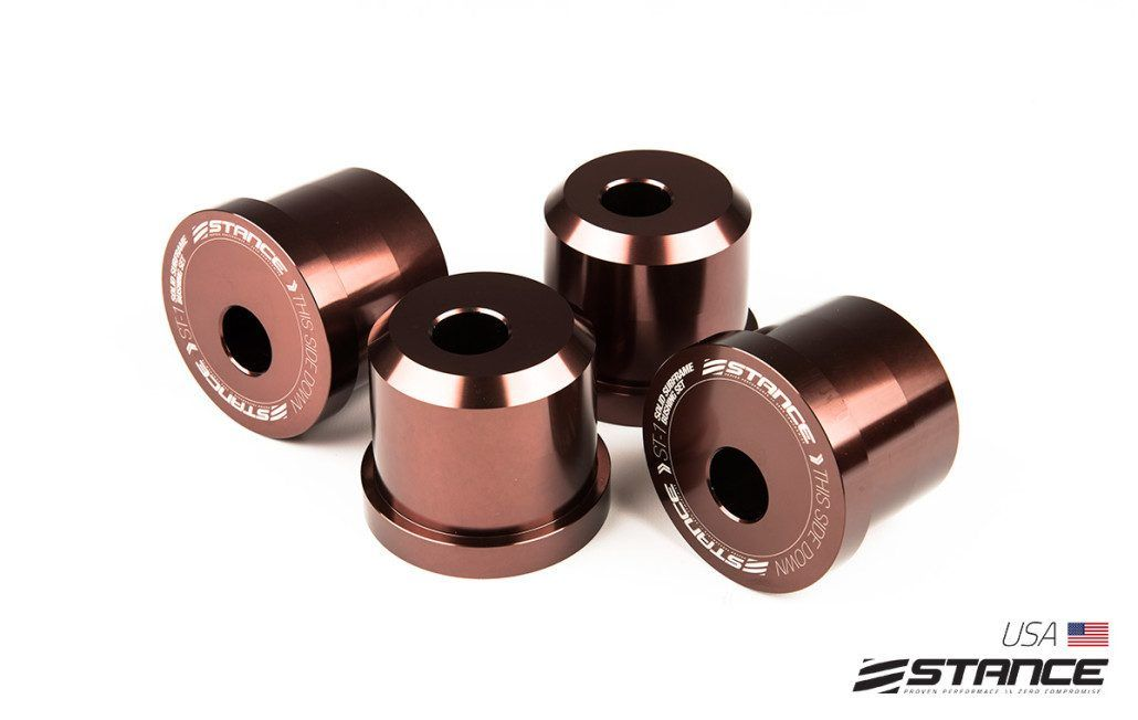 Stance S14/S15 to S13 Subframe Conversion Solid Bushings - Nissan 240SX S13