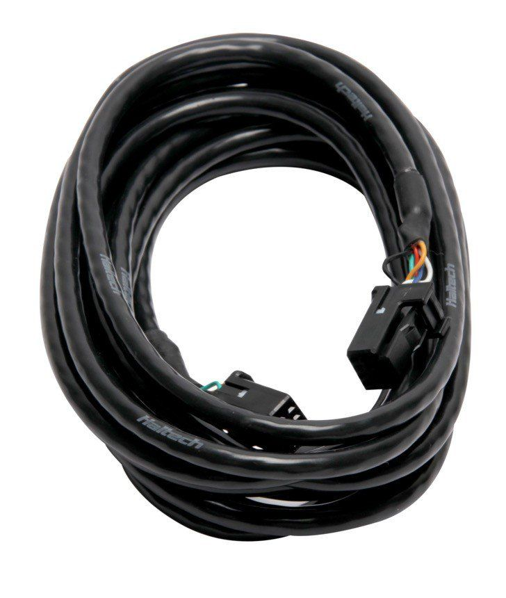 Haltech CAN Cable, Black - 75mm