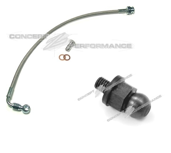 CZP 300ZX Chromoly Clutch Pivot Ball & Stainless Steel Clutch Line Combo