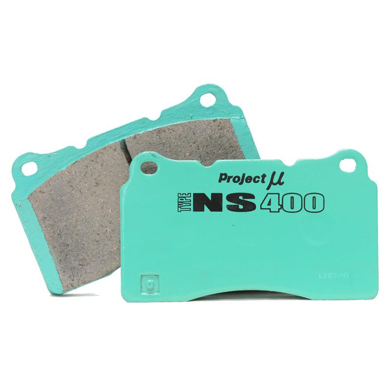 Project Mu TYPE NS400 Brake Pads, Front w/ Brembo Calipers - Nissan 350Z / Infiniti G35