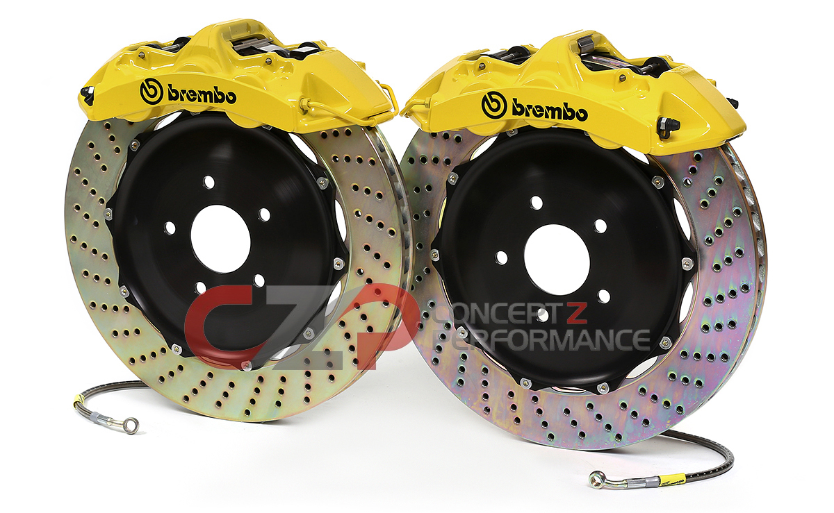 "Brembo Front Monoblock 355 x 32mm 14"" 6-Piston Big Brake Kit - Nissan 300ZX Z32"
