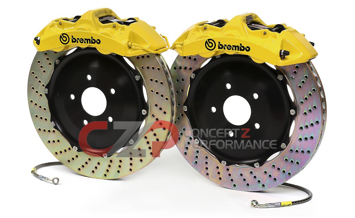 Brembo Brake Kit >> Brembo Front Monoblock 355 X 32mm 14 6 Piston Big Brake Kit Nissan 300zx Z32 1m 8053a Concept Z Performance