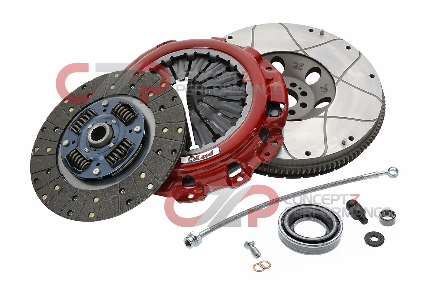 McLeod Stage 3 Elite Clutch & Flywheel Combo Kit w/ Bonus Parts, VQ35DE - Nissan 350Z / Infiniti G35