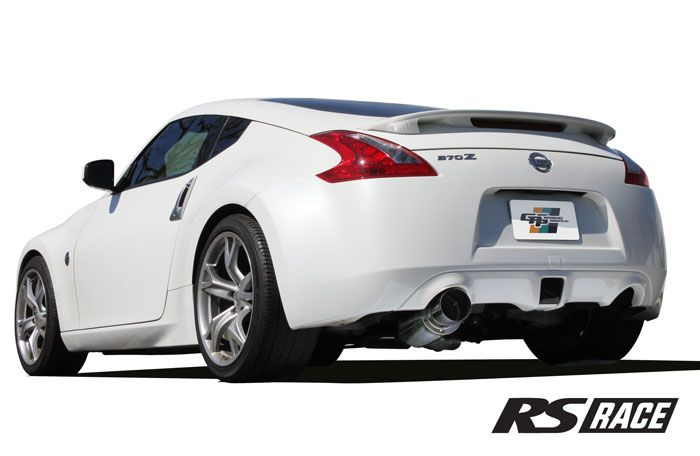 Greddy GPP RS-Race Single Exit Cat-Back Exhaust System, 4 5