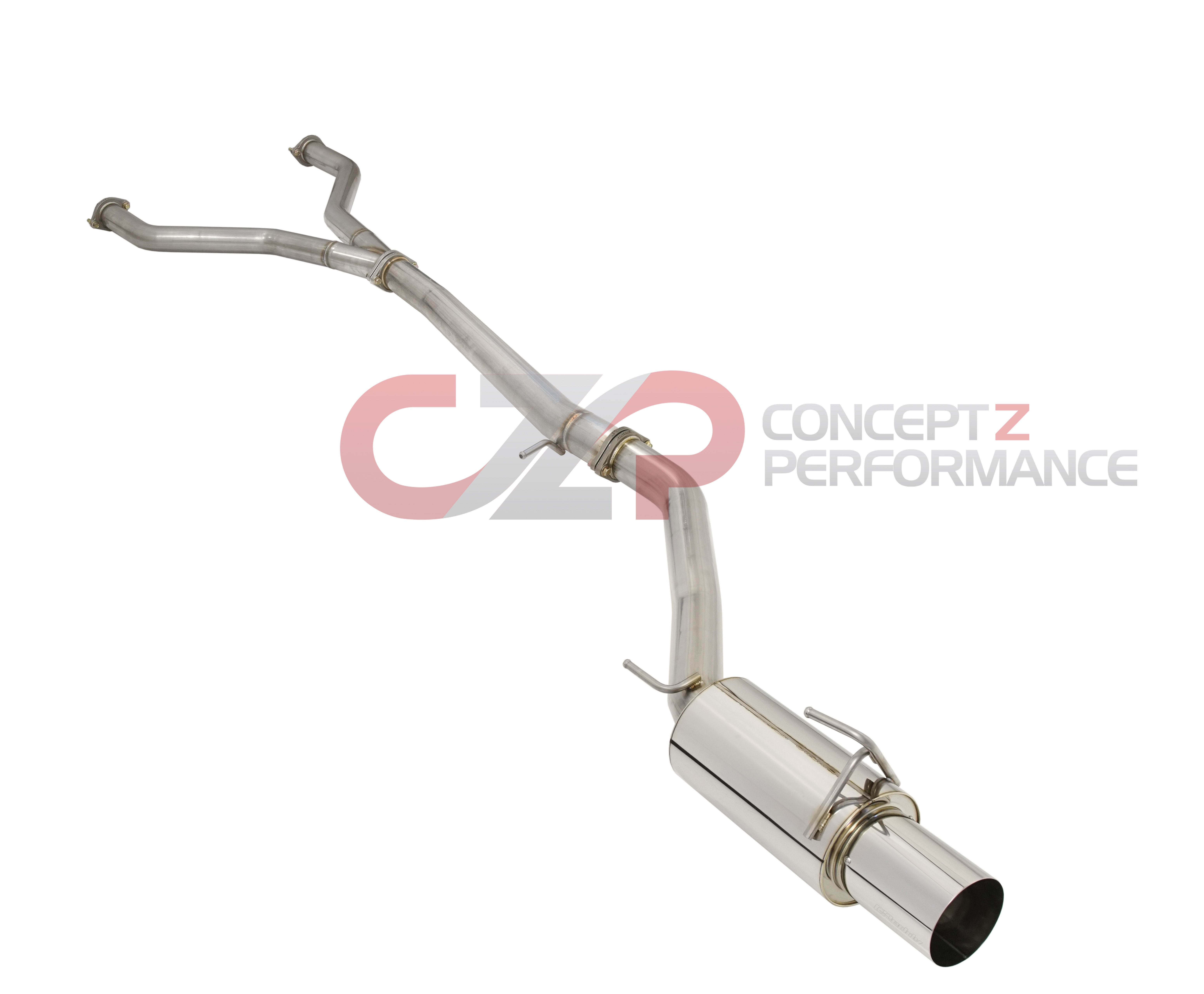 "Greddy GPP RS-Race Single Exit Cat-Back Exhaust System, 4.5"" Tip - Nissan 370Z Z34 - IN STOCK!!!"
