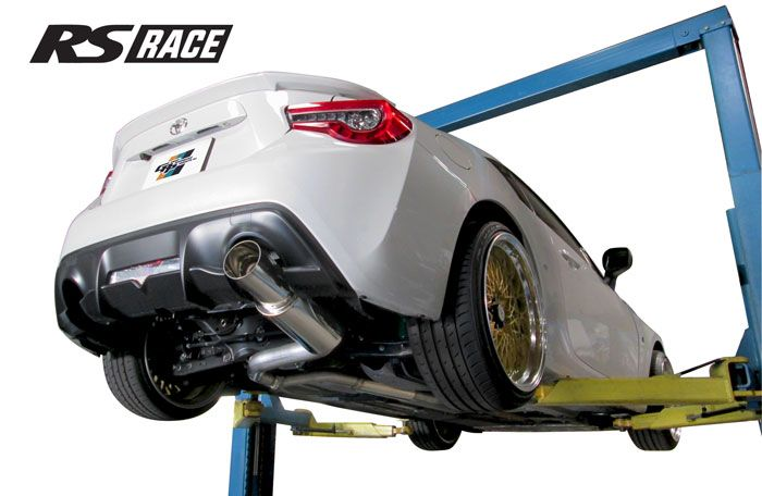 "Greddy GPP RS-Race Single Exit Cat-Back Exhaust System, 4.5"" Tip - Scion FR-S / Subaru BRZ / Toyota 86"