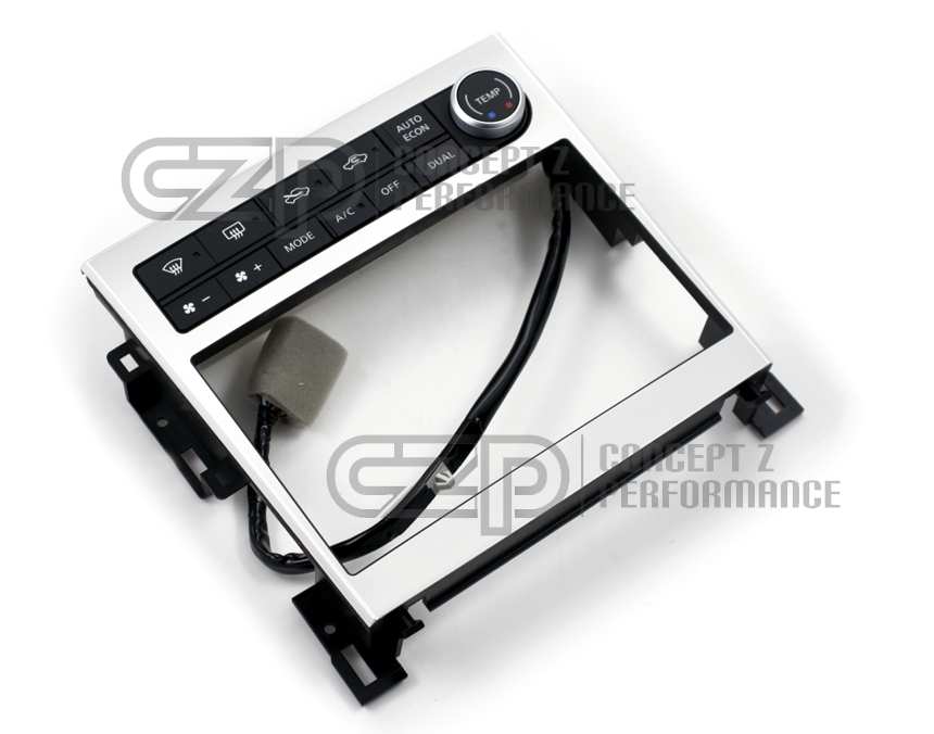 Nissan JDM Double Din Conversion Kit w/o Navigation - Infniti G35 05-06 Sedan, 05-07 Coupe V35