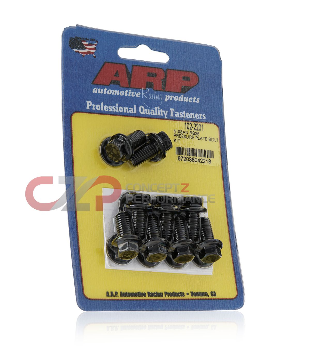 ARP Pro Heavy Duty Clutch Pressure Plate Bolt and Washer Kit, MT - Nissan Skyline 240SX 300ZX 350Z 370Z / Infiniti G35 G37 Q60