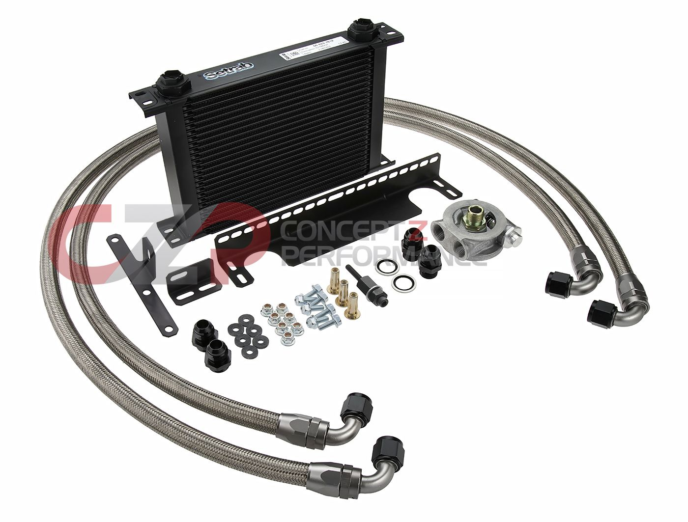 CZP Engine Oil Cooler Kit - Nissan 350Z / Infiniti G35