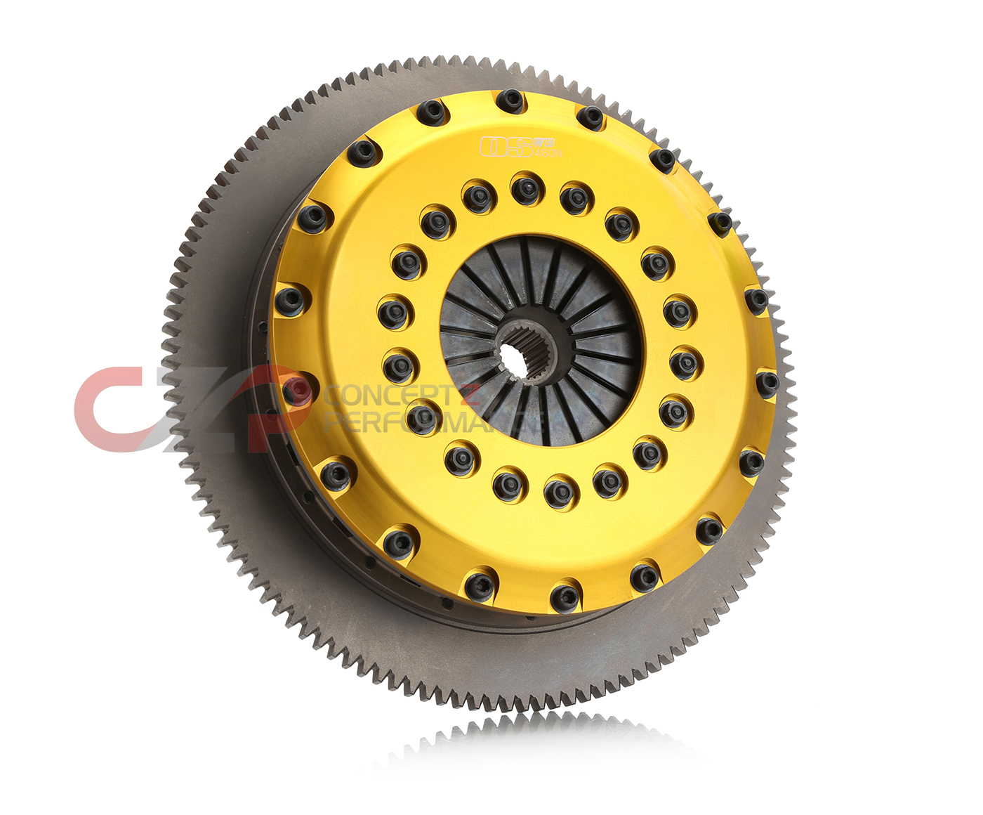 OS Giken 300ZX Triple Plate Clutch Kit - R3C Billet Aluminum Cover