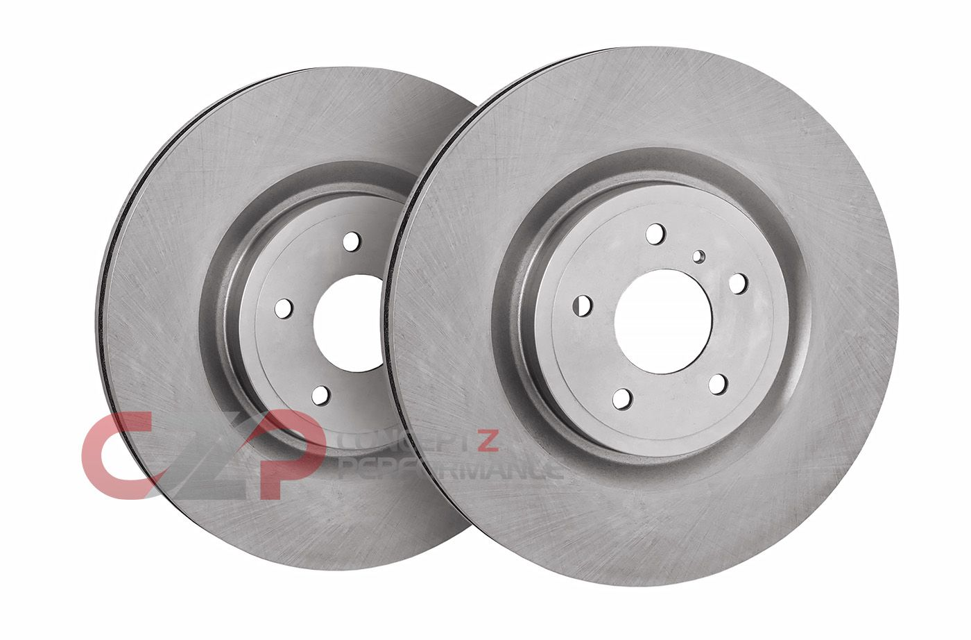 1996 Fits Nissan 300ZX Turbo//Non-Turbo OE Replacement Rotors w//Ceramic Pads F+R