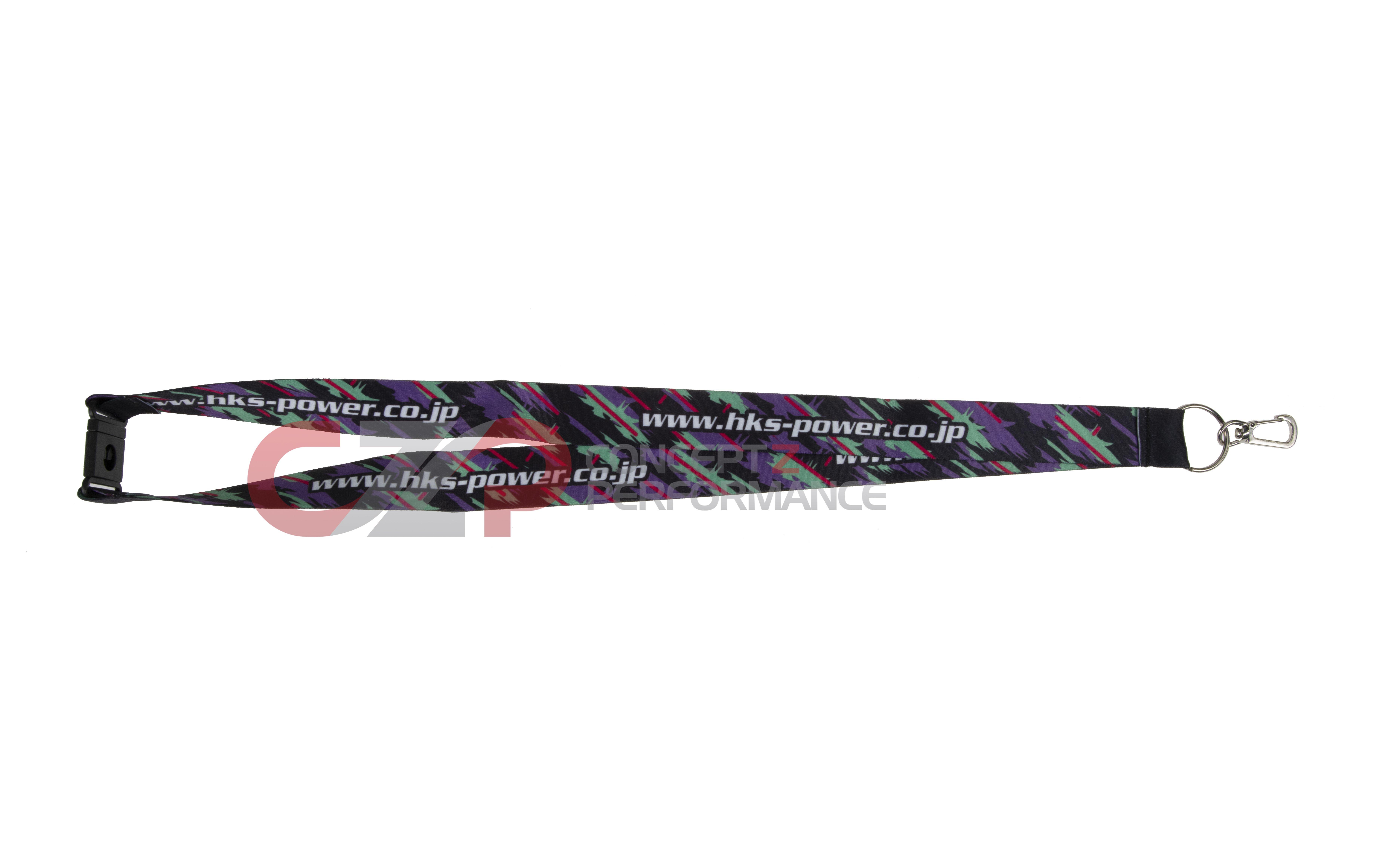HKS 51007-AK229 Premium Goods Neck Strap Lanyard Key Chain Holder Genuine JDM
