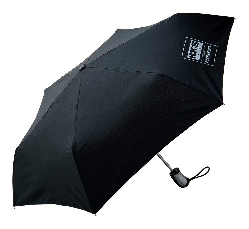 HKS FOLDING UMBRELLA BLACK