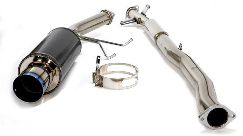 HKS Carbon Ti Hi-Power Exhaust - Eagle Talon TSE 2.0 Turbo AWD 95-98