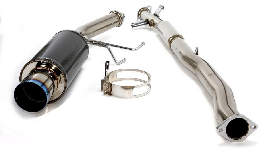 HKS Carbon Ti Hi-Power Exhaust - 95-98 Eagle Talon TSE 2.0 Turbo FWD / 95-99 Mitsubishi Eclipse