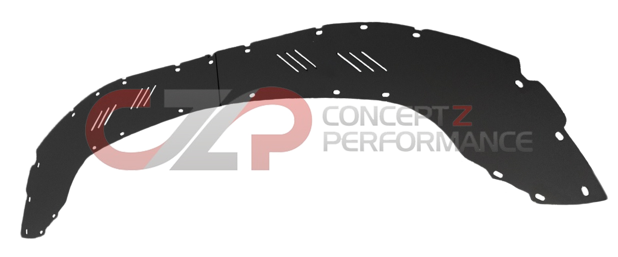 Z Speed Performance ZSP Aluminum Front Extension Diffuser Panel for Nismo V3 Bumper Fascia - Nissan 350Z Z33