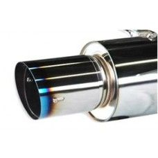 HKS Hi-Power Racing Muffler, Rear Section Only - Nissan 240SX S14 KA24DE