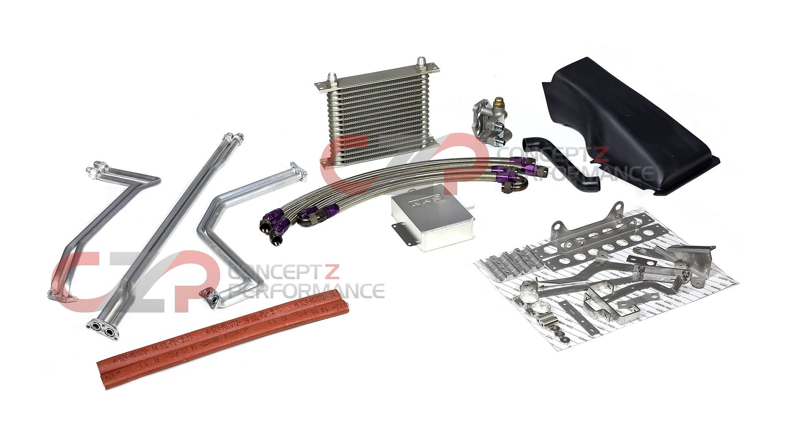 HKS Dual Clutch Transmission Cooler Kit - Nissan GT-R 12-16 R35