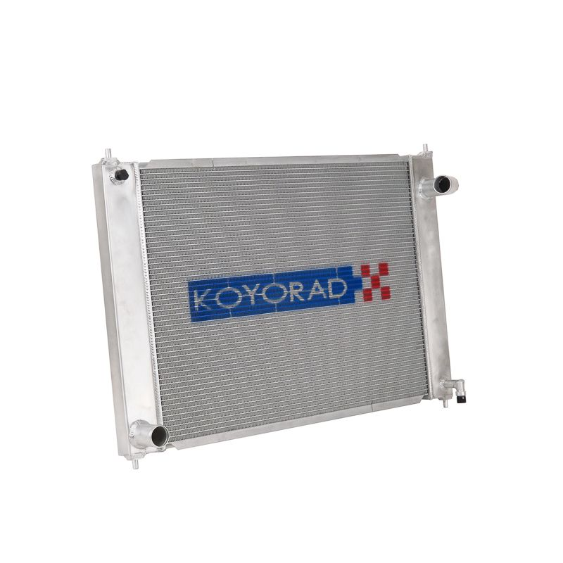 Koyo Racing Competition Radiator, Manual Trans Only, Eliminates Condenser - Nissan 370Z / Infiniti G37