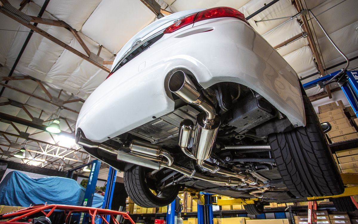 Agency Power Catback Exhaust System - Infiniti Q50 3.0T Sport / Red Sport V37