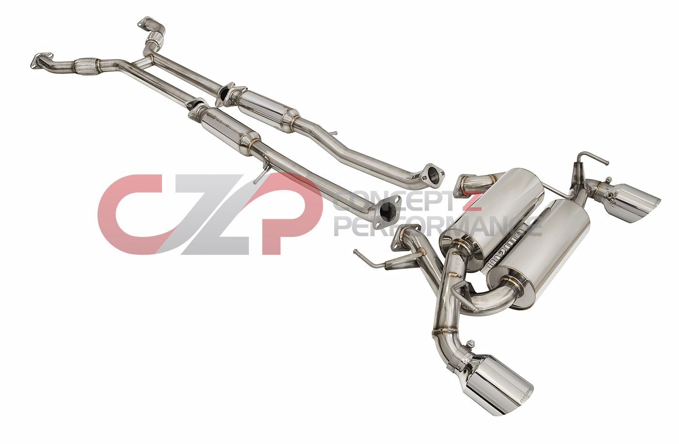 Nismo R-Tune Sport Cat-Back Exhaust System - Nissan 370Z 09+ Z34