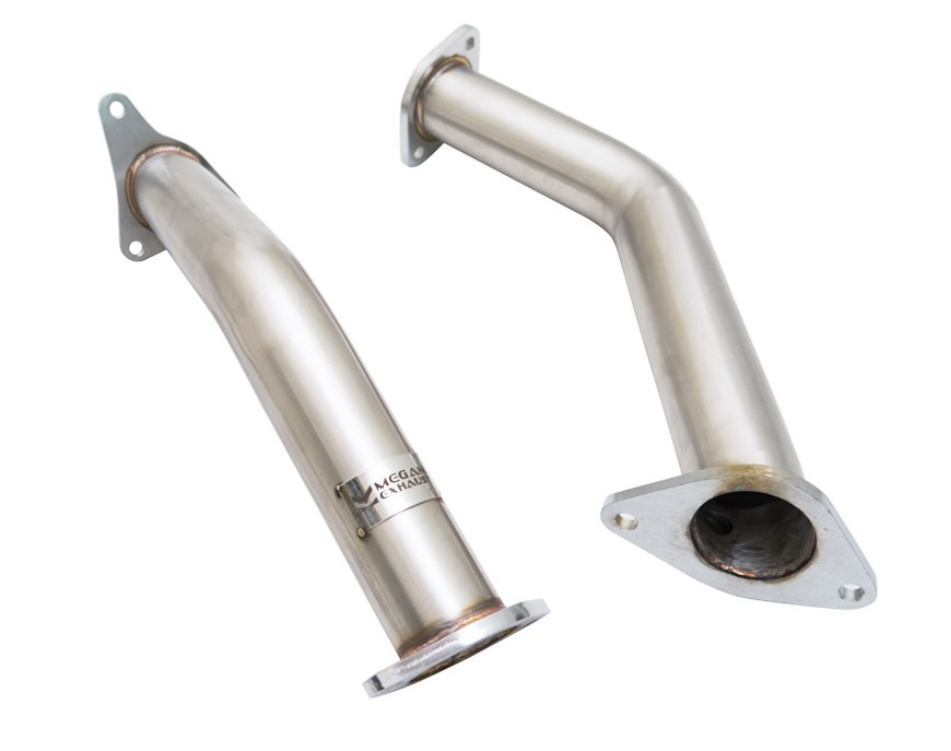 "Megan Stainless Steel Lower Downpipes, 2.5"" - Infiniti Q50 / Q60 3.0t Premium / Red Sport RS400 VR30DDTT - IN STOCK!!!"