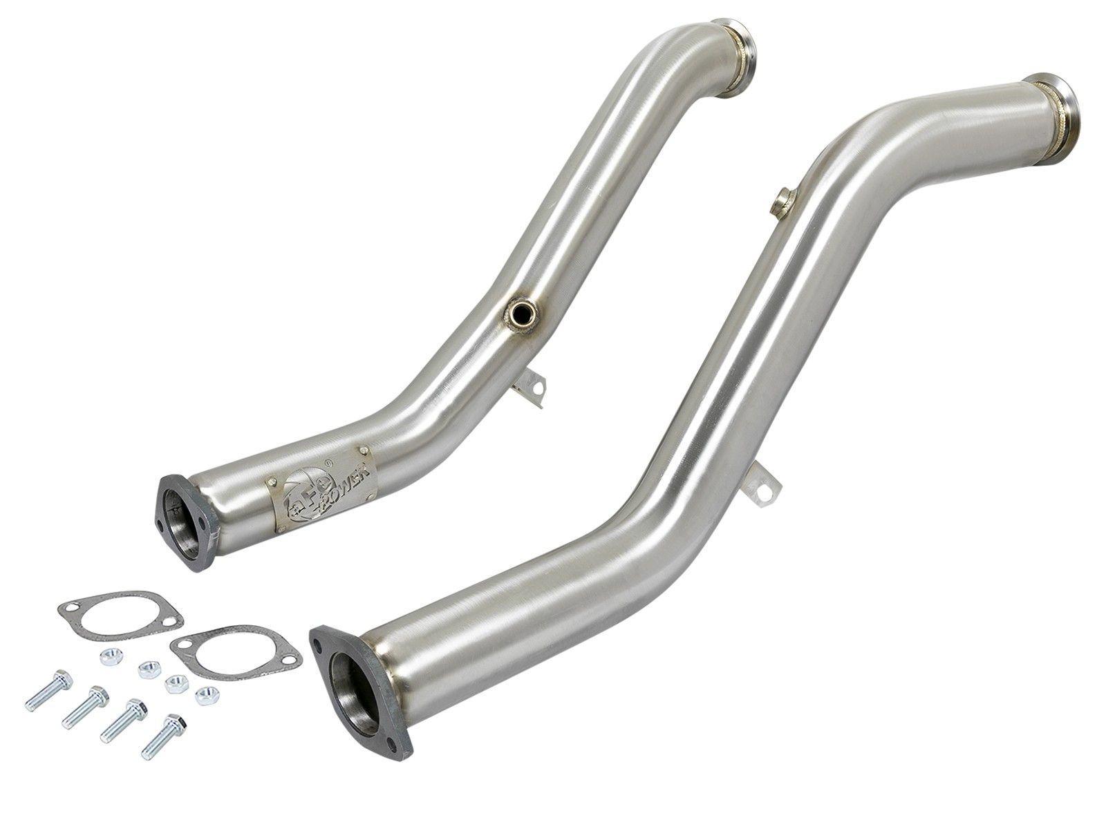 "aFe Power Twtist Steel Down-Pipes, Race Series 3""  - Infiniti Q50 / Q60 3.0t Premium / Red Sport RS400 VR30DDTT"
