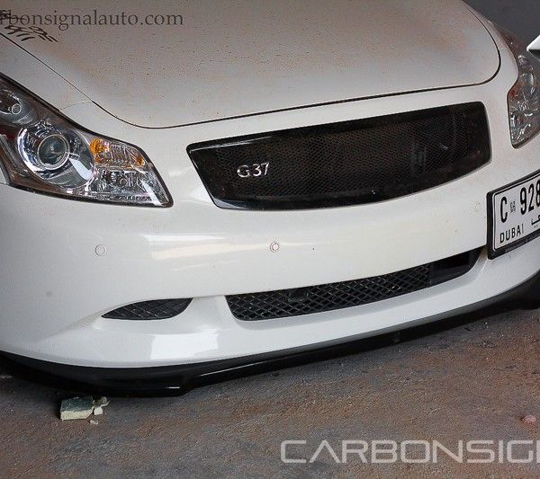 Carbon Signal Spec-M Lip Sport Bumper FRP for Infiniti G37S Sedan V36