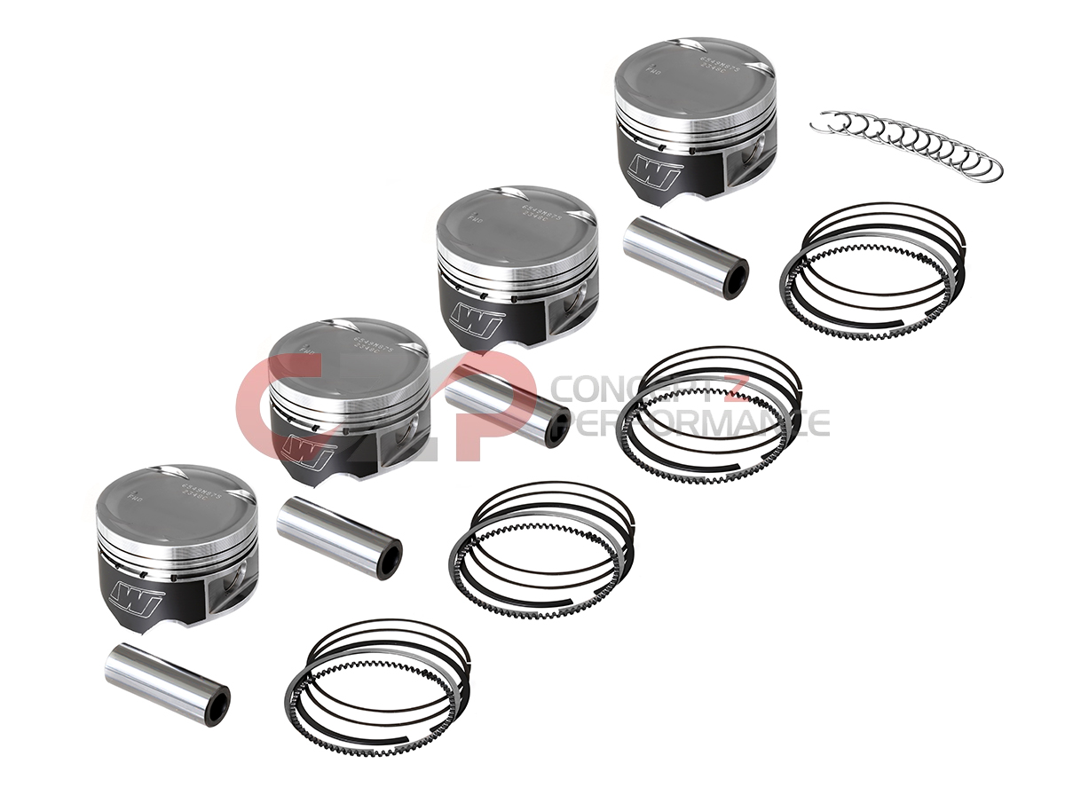 Wiseco Piston Set 10.5 CR - Nissan 240SX 95-98 KA24DE S14
